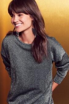 Metallic Sweater