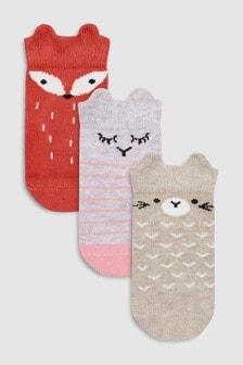 Socken mit Figurenmotiven, Dreierpack (Jünger)