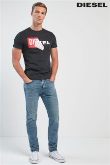Diesel® Light Wash 84UX Buster Tapered Fit Jean