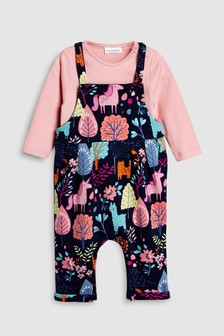 Dungaree And Bodysuit Set (0mths-2yrs)