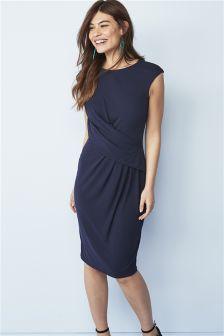 Jersey Drape Dress