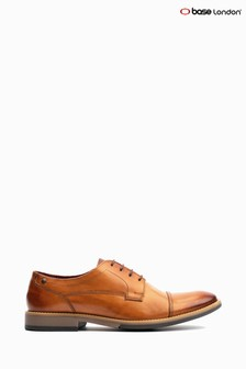 Base London® Tan Thorpe Burnished Lace-Up Shoe