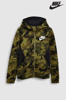 Nike Club Camo Full Zip Hoody