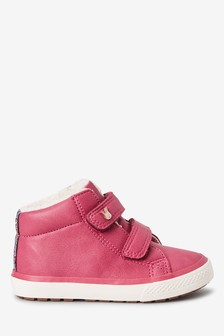 Touch Fastening High Top Trainers (Younger)