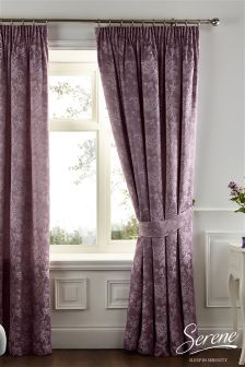 Isla Pencil Pleat Curtains