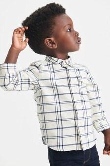 Long Sleeve Check Shirt (3mths-7yrs)