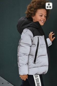 Утепленная светоотражающая куртка с термоизоляционными свойствами (3-16 лет)
