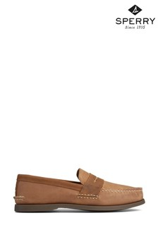 Sperry Brown Authentic Original Penny Loafers