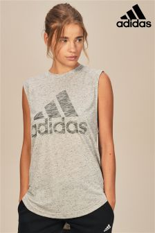 adidas Grey Winners Tank