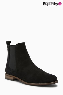 Superdry Suede Chelsea Boot