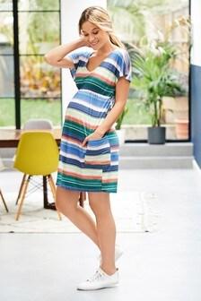 Maternity Tie Back Dress
