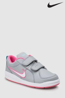 Nike Grey/Pink Pico Velcro