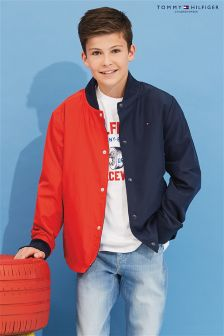 Tommy Hilfiger Boys Blue Cracker Jacket