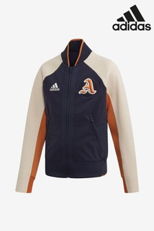 adidas Navy Colourblock V City Jacket
