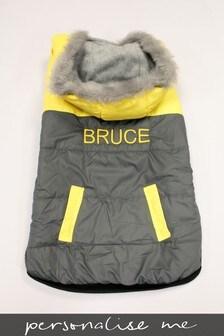 Personalised Padded Pet Coat