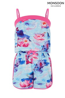 Monsoon Aqua Silvana Playsuit