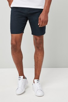 Linen Mix Chino Shorts