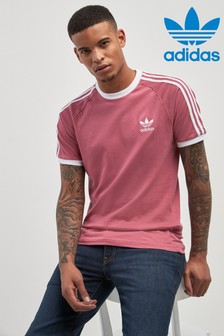 adidas Originals Trace Maroon 3 Stripes Tee