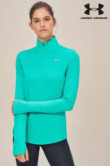 Under Armour Green Quarter Zip Top
