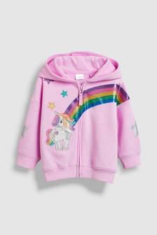 Unicorn Rainbow Hoody (3mths-6yrs)