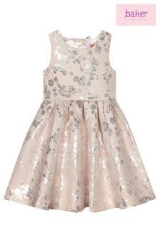 baker by Ted Baker Floral Blossom Jacquard Prom Dress
