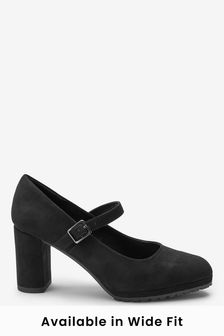 Cleated Sole Mary Jane Courts