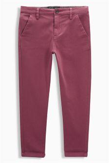 Pantalon chino (3-16 ans)