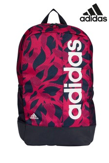 d0f9aa324a639 adidas Linear Pink Backpack