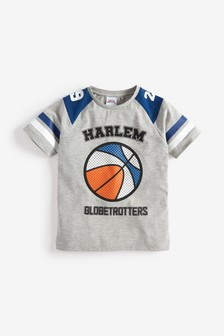 Harlem Basketball T-Shirt (3-14yrs)