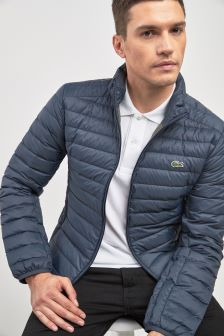 Lacoste® Meridian Blue Padded Jacket
