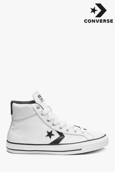 Converse Star Player Leather High Trainers