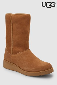 35326e6b0e09a UGG® Amie Chestnut Mid Wedge Boot