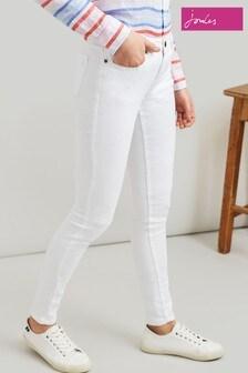 Joules White Monroe Skinny Jean