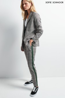 Sofie Schnoor Grey Check Trouser