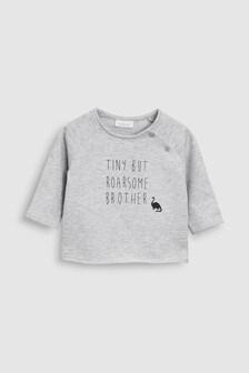 Dinosaur Brother T-Shirt (0Monate bis 2Jahre)