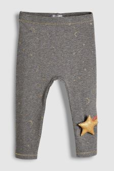 Moon And Star Leggings (3mths-6yrs)