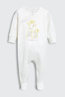 Embroidered Daddy & Me Sleepsuit (0-18mths)