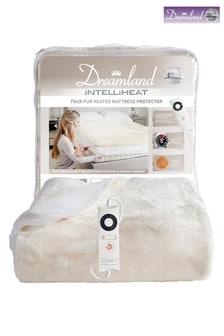 Dreamland Intelliheat Faux Fur Heated Mattress Protector