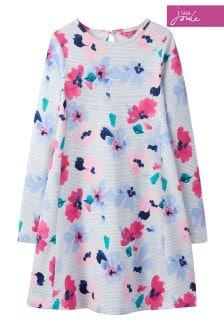 Joules Lily Pond Stripe Trapeze Dress