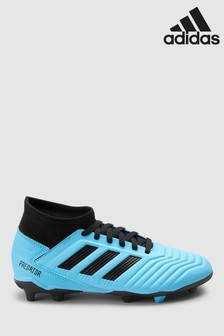 adidas Hardwired Blue Predator Cuff Firm Ground Junior & Youth Football Boots