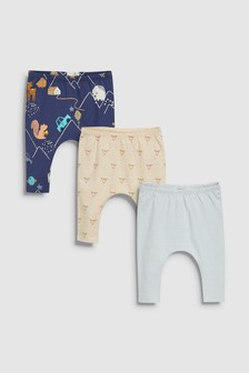 Leggings Three Pack (0mths-2yrs)