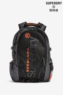 Superdry Grey Marl Tarp Backpack