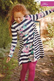 Joules Margate Floral Trapeze Dress