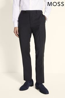 Moss 1851 Charcoal Performance Tailored Fit Trouser