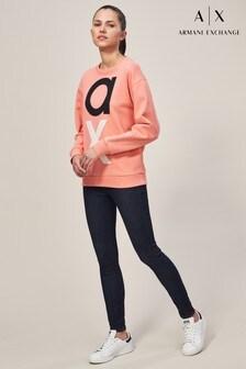 Armani Exchange Rinse High Waist Skinny Jean