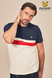 Lyle & Scott Yoke Stripe T-Shirt