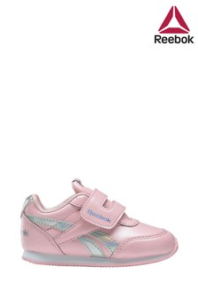 Reebok Pink/Silver Royal Infant Trainers