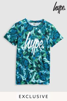Hype. Neon Jungle Printed Tee