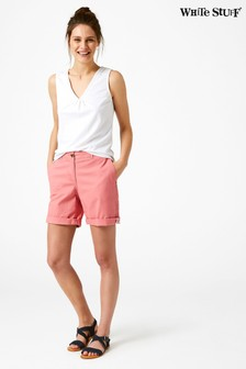 White Stuff Pink Lindenberry Chino Short