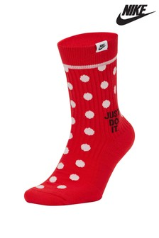 Nike JDI. Spot Crew Socks Two Pack